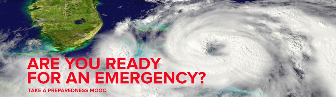 Emergency Preparedness MOOC page